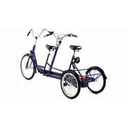 Tandem tricycle sans option