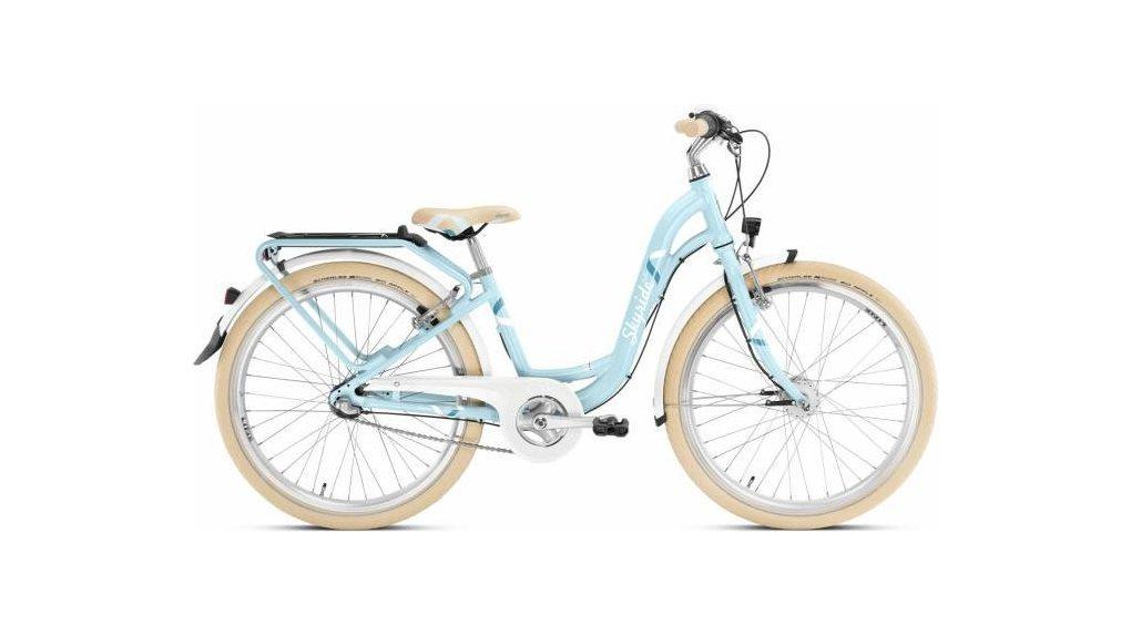 Vélo fille Skyride 7 vitesses à rétropédalage ,dés 135 cm