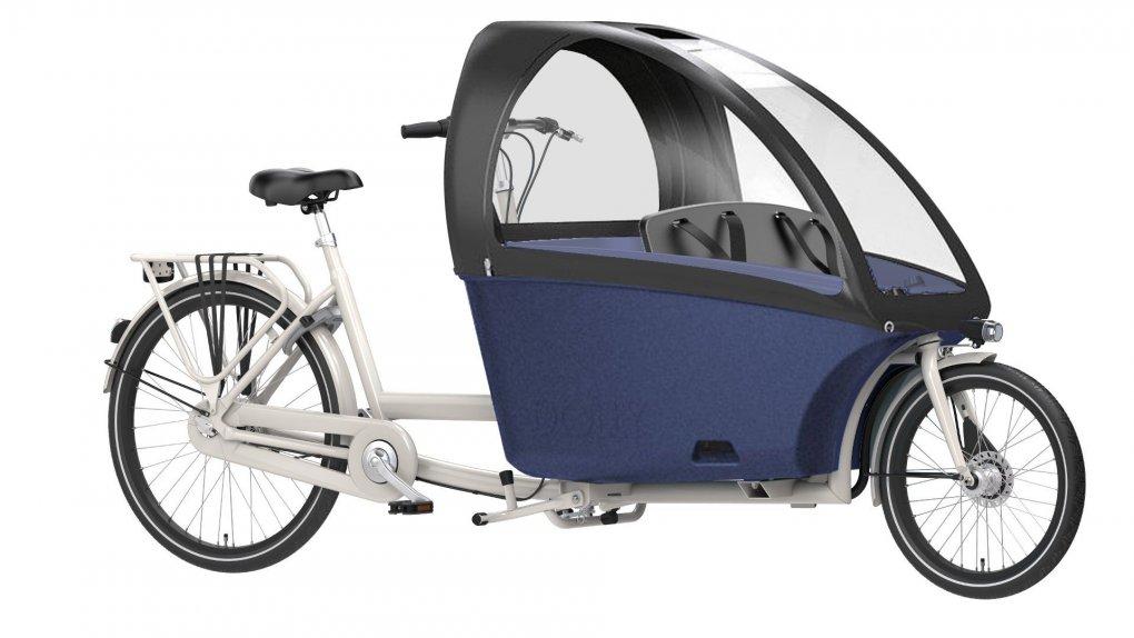 Biporteur Bakfiets Dolly avec accessoires - cliquez sur Configurer pour plus d'informations