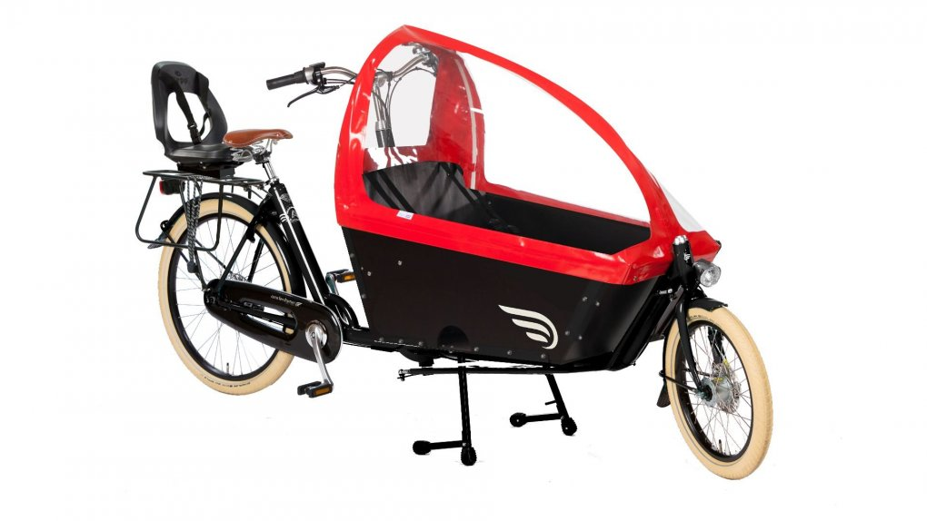 Biporteur Amsterdamer transport enfant