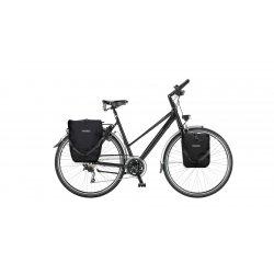 Vélo cyclotourisme MC Explorer cadre trapèze avec sacoches étanche optionnelles