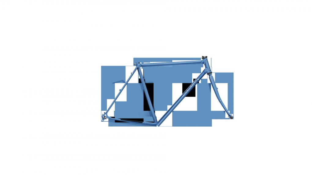vélo de ville sportif léger cadre acier Topaz