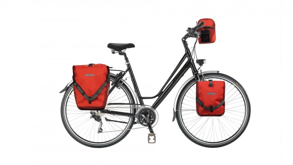 Vélo cyclotourisme Explorer cadre bas
