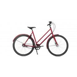 Vélo courroie ville hollandais
