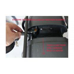 Coque batterie pour porte-bagage Standard pour 540 Wh
