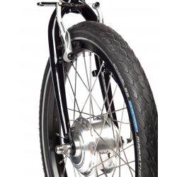 Roue 20 pouces, moteur pour frein à patin ou à disque
