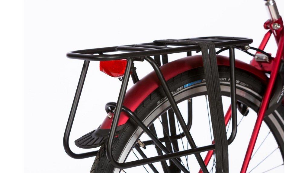 Porte-bagage rallongé Yepp noir brillant (option pour vélo sans porte-bagage)