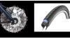 Pneus anti-crevaison MP, frein ventilé 50% plus puissant