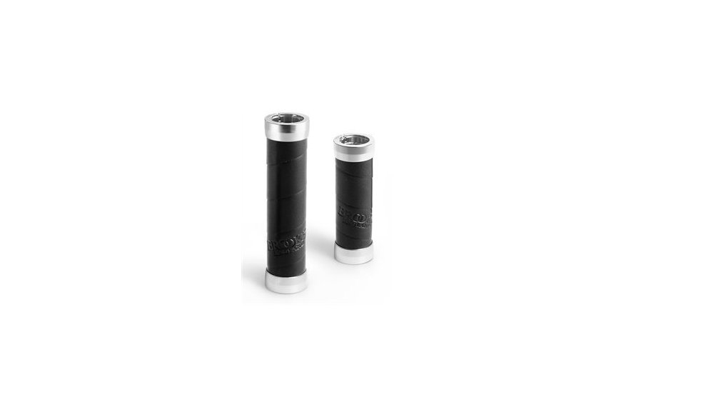 Poignées Brooks Slender longueur 130 mm ( jeu de 2),noire