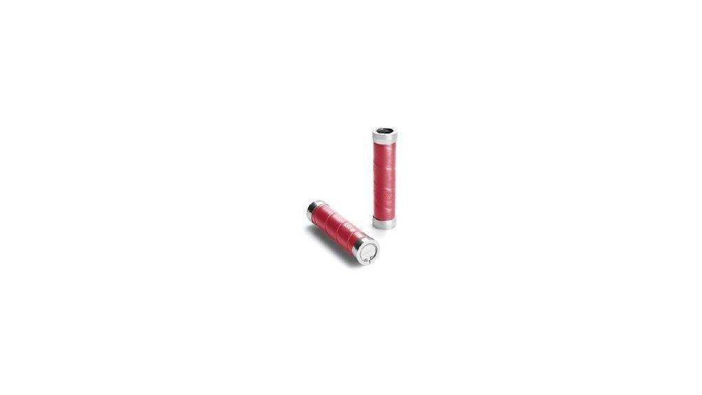 Poignée Brooks Slender longueur 130 mm, rouge carmin