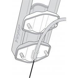 Adaptateur si câble de frein sur tube de selle pour Yepp Maxi