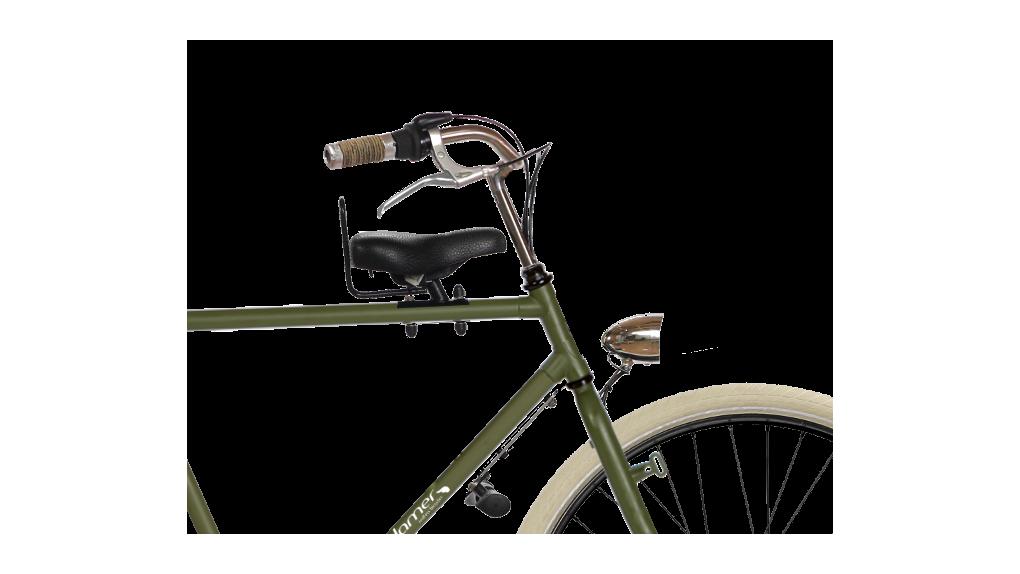 Selle enfant avant,vélo avec porte-bagage avant