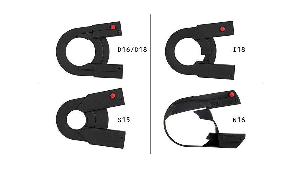 Couvre-chaîne intégral partie arrière Nexus 18-22 dents