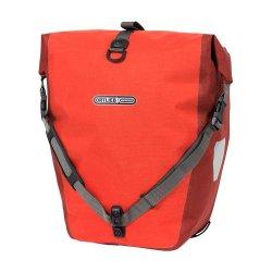 Deux sacoches arrière Ortlieb Roller Plus,rouge