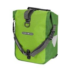 Deux sacoches avant Ortlieb Roller Plus,vert