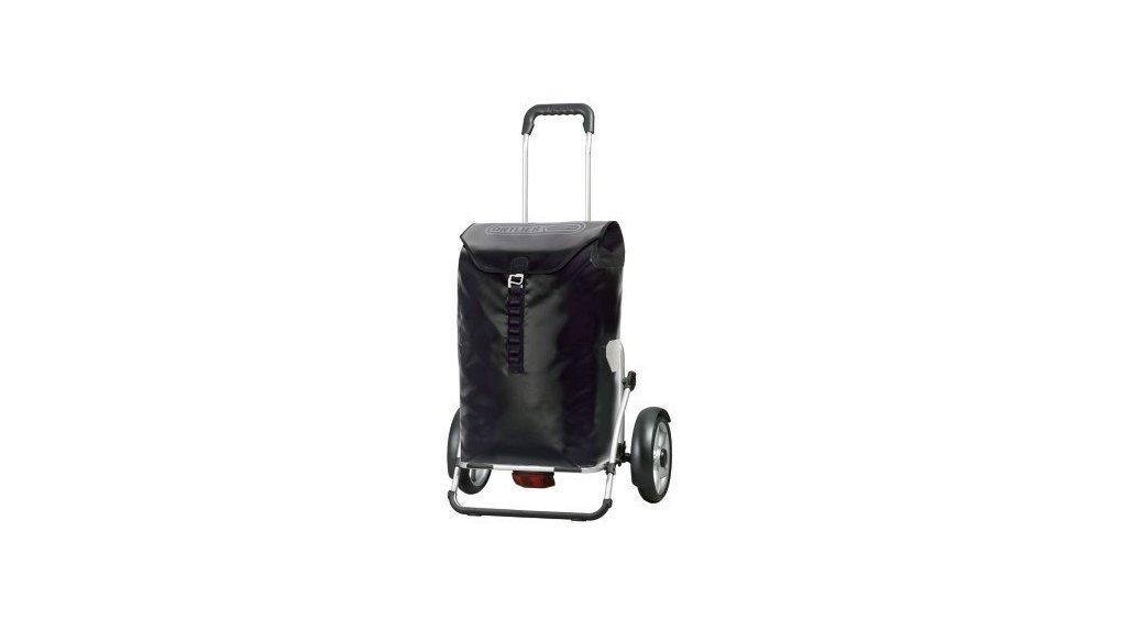 Chariot Ortlieb 100% étanche, fixation porte-bag., noir