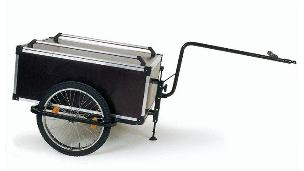 Remorque de vélo capacité 175 litres,fixée à la tige de selle