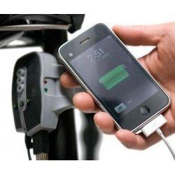 Chargeur pour Smartphone ou GPS alimenté par la dynamo du vélo (avec batterie tampon)