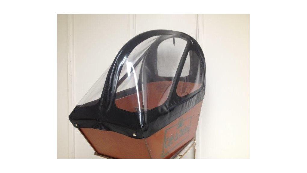 Protection pluie haute avec ouvertures pour biporteur Bakfiets.nl long