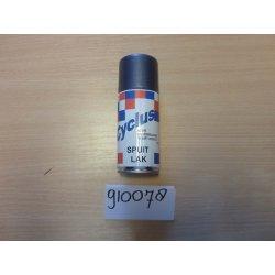 Bombe de retouche de peinture bleu argent 78