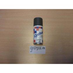 Bombe de retouche de peinture gris granit.RAL 7022