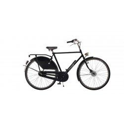 Vélo hollandais homme Amsterdamer Park Classic avec selle MG miel en cuir