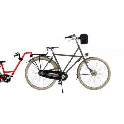 Vélo électrique Vader Big Apple,batterie avant