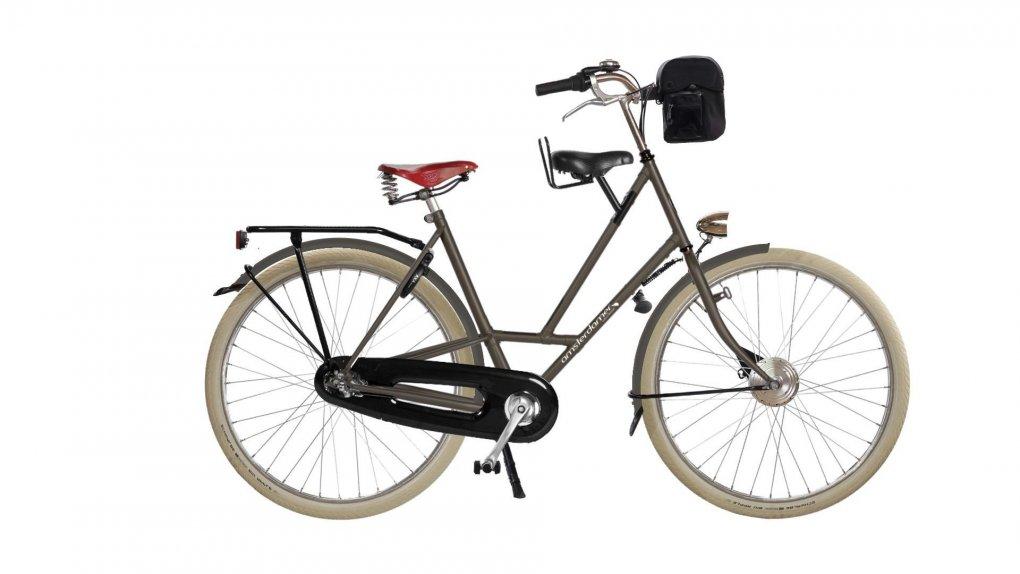 Vélo électrique Moeder Big Apple,batterie avant