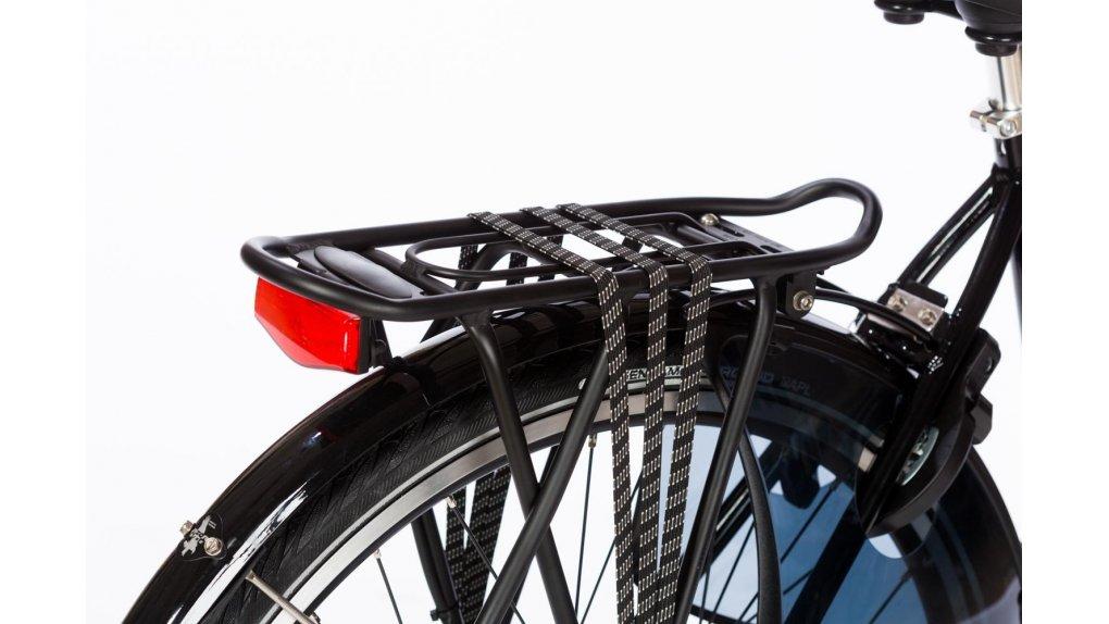 Porte-bagage arrière aluminium, cap. 25 Kg, coloris noir