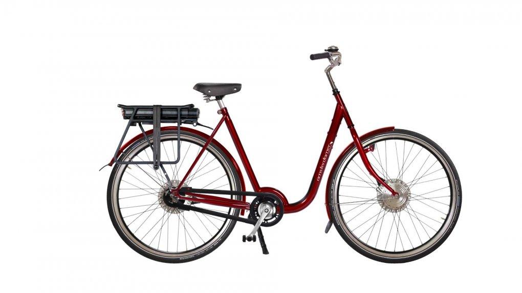 Vélo électrique hollandais Stad Premium,batterie arrière