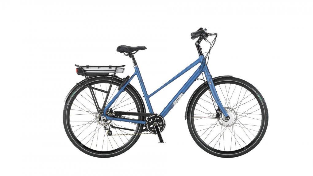 Vélo hollandais électrique ville et randonnée MC Xelo Trapez