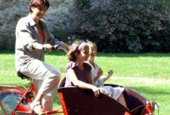 biporteur velo famille